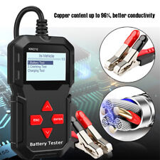 KW210 12V Car Battery Tester Cranking Ripple Charging Test Tool SAE 100-2000 1x