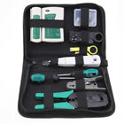 Network Repair Tool kit Ethernet LAN Cable Tester Crimper  RJ45/11/12 Cat5/5e MF
