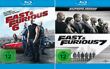 The Fast and the Furious 6 + 7 (Paul Walker)                     | Blu-ray | 053