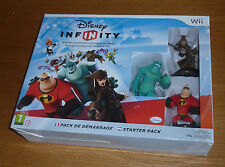 COFFRET Nintendo Wii JEU Disney Infinity Starter pack game CONSOLE figurine GAME
