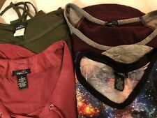 Mix Lot Of 4 Juniors Long 3/4 and long Sleeve Tops Shirts Rue 21 Small