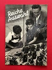 alter Foto Katalog Reiche Auswahl Altissa Ercona Weltaflex Kameras 1955 ( F19063