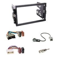 Radioblende Doppel DIN+ISO Stecker+Antenne Adapter für Hyundai Sonata Santa Fe