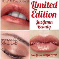 💄LipSense Rosé Rose All Day, ROSE GOLD GLOSS & Rose Gold Glitter ShadowSense 💋