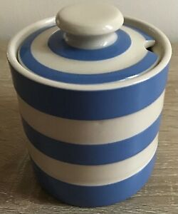 T G Green Cornishware preserve/jam pot
