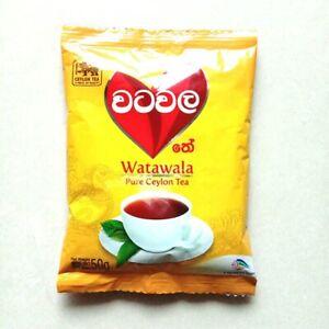Tea Black Ceylon Watawala 50g Leaf Loose Strong Sri Lanka Natural Original BOPF