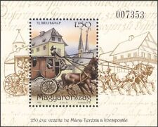 Hungary 1999 Stamp Day/Mail Coach/Horses/Postal Transport/Post 1v m/s (n45187)