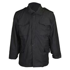 TRU SPEC M-65 Field Coat With Liner Size Small color  Black