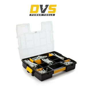 DeWalt DFMJOHAMFIX Hammer Fixings Kit x 250 Pcs in Carry Case