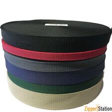 Polypropylene Webbing Strap, 10 15 20 25 30 40 50mm, bag straps, belts