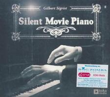 SILENT Movie pianoforte = Gilbert Sigrist = CD = Classic Jazz ROMANTIC Lounge