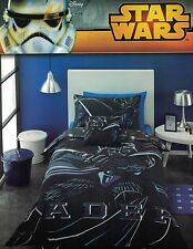 "DISNEY STAR WARS ""SITH LORD"" VADER QUILT COVER SET QUEEN NEW"