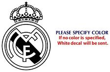REAL MADRID Football JDM Funny Vinyl Decal Car Sticker Window Wall Laptop 7""