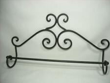 Steel Towel Rack 16 x 10 Victorian Scroll