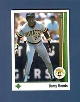 1989 Upper Deck #440 Barry Bonds Pittsburgh Pirates