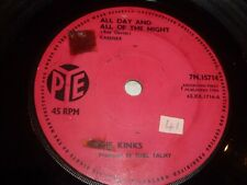 "THE KINKS - All Day And All Of The Night - Rare original 1964 UK 7"" vinyl single"