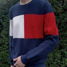 Tommy Hilfiger large logo jumper L