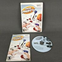 Game Party Nintendo Wii 2007 Complete Tested