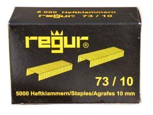 Regur 73/10 Heftklammern verzinkt 2-80 Blatt Inhalt: 5.000 Klammern