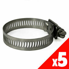 Worm Gear Hose Clamp 21-44mm OD Range Stainless Steel X5