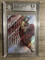 Trae Young 2018-19 Panini Prospects Rapture National Convention RC #/199 BGS 8.5