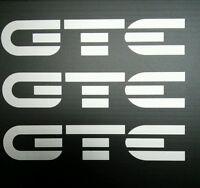 Exterior Vinyl Graphics For Vauxhall Opel Astra GTE / 16v (GTE Logo) (Set of 3)