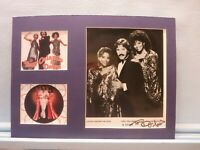 Famed singers Tony Orlando & Dawn and the autograph of Tony Orlando