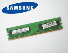 1GB SAMSUNG DDR2 DDR II DIMM Mémoire vive RAM PC2-5300U M378T2953EZ3-CE6