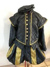 Mens Elizabethan Renaissance Hamlet Shakespeare Doublet /& Slops//Breeches S XL