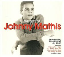 THE BEST OF JOHNNY MATHIS - 2 CD BOX SET - MISTY, CHANCES ARE & MORE