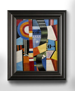 Fernand Leger painting on canvas - abstract painting