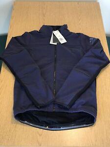 $200 Mens Adidas Climaheat Cycling Full Zip Jacket Purple Nylon Size Small S