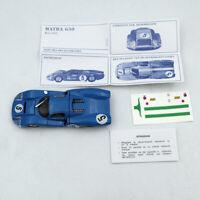 1:43 Atlas Dinky Toys 1425E Blue MATRA 630 ALLOY #5 Diecast