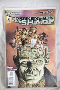 DC Comics Frankenstein Agent of S.H.A.D.E (The New 52) Issue #2