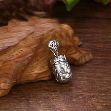 925 Sterling Silver Memorial Cremation Pendant/Keepsake/Urn/charm Ash