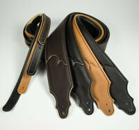 Franklin Strap - Padded Glove Leather Guitar Strap