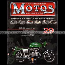 MOTOS CLASSIQUES N°29 ★ MÜNCH 1200 MAMMUT MAMMOUTH 1967 ★ MOTEUR ROTATIF WANKEL