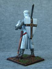 SALE! Elite tin soldiers St. Petersburg: Teutonic knight with sword on shoulde.