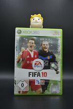 MS XBOX 360 Spiel Game - FIFA 10 Fußball - OVP BLITZVERSAND sehr guter Zustand !