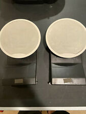 Bose virtually invisible 191 in wall in ceiling speakers Pair Painted
