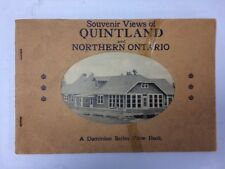 Vintage Souvenir Booklet Northern Ontario Canada Travel Dominion View Book