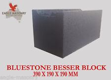 Bluestone Concrete Besser Blocks 390 x 190 x 190  (20.01 / 20.42) MASONRY