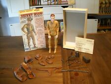 VINTAGE MARX JOHNNY WEST MOVABLE COWBOY. COMPLETE ACCESSORIES,MANUALS,BOX 1966