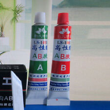 2X Super Strong Epoxy Clear Glue Adhesive A+B For Super Bond Metal Plastic Wood