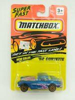 Matchbox Super Fast Matchbox 62 Corvette New Color Number 32