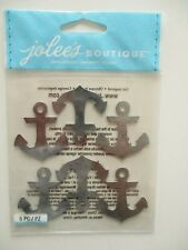 JOLEE'S BOUTIQUE STICKERS - Metal Anchors Repeats - cruise ship sailing