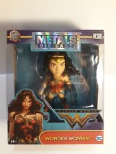 "Jada Metals Die Cast DC Universe Wonder Woman 4"" Figure Justice League Movie NEW"