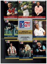 1990 PRO SET PGA GOLF SPECIAL INAUGURAL SET 100 CARDS + 1  BONUS 2018 SALE
