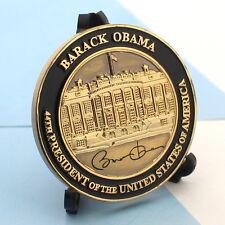 challenge coin  WHITE HOUSE  Barack Obama 2 INCH 44th PRESIDENT black