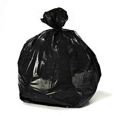 Rubbermaid Compatible 44 Gallon Trash Bag Black 100 Bags